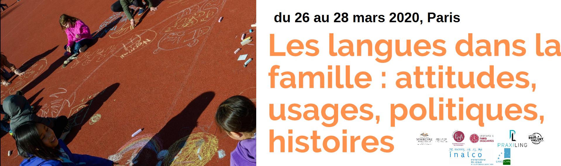 Les langues dans la famille 2019